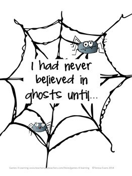 Halloween Writing Activity: Free Halloween Writing Prompts Spooky Story Starters