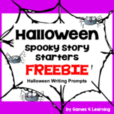 Free Halloween Writing Activity: Spooky Story Starters