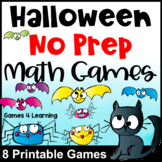 Halloween Math Activities: No Prep Halloween Math Games
