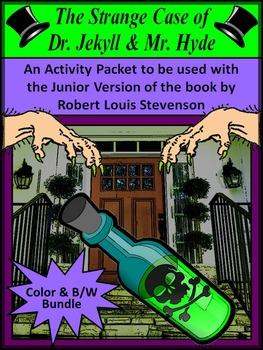 Halloween Activities: Dr. Jekyll & Mr. Hyde Junior Classic Activities Bundle