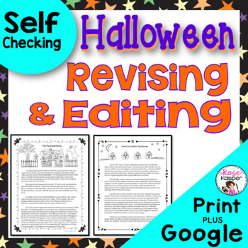 Halloween Revising and Editing