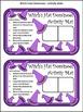 Halloween Games Activities: Witch's Hat Dominoes Halloween Math Game