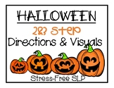Halloween 2&3 Step Directions