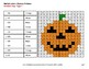 Halloween: 2-Digit by 1-Digit MULTIPLICATION - Color-By-Number Mystery Pictures