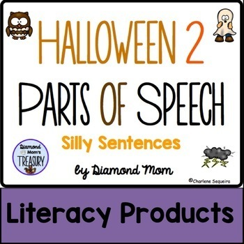 Halloween 2 Parts of Speech Silly Sentences