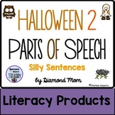 Halloween 2 Parts of Speech Silly Sentences
