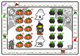 Halloween 2 and 5 Times Tables Games