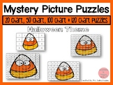 Halloween 20, 50, 100 & 120 Chart Mystery Picture Puzzles