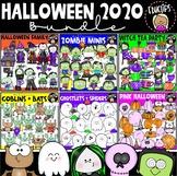 Halloween 2020 Clip Art Bundle {Educlips Clipart}