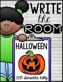 Halloween Write the Room Center