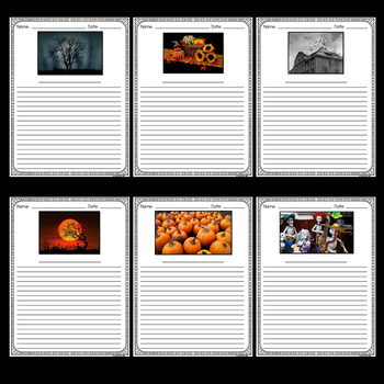 Halloween Writing Activities (Halloween Writing Prompts and Writing Paper)