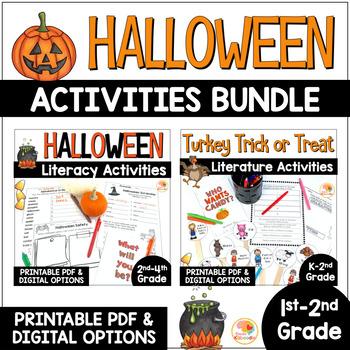 Halloween Language Arts BUNDLE