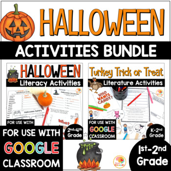 Halloween Language Arts BUNDLE