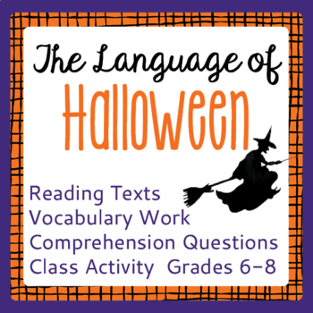 Halloween History Informational Texts Reading Passages, Activities