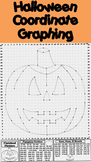 Halloween Math Activity: Pumpkin Coordinate Graphing Picture - Ordered Pairs