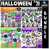 Halloween '21 Clip Art Bundle {Educlips Clipart}