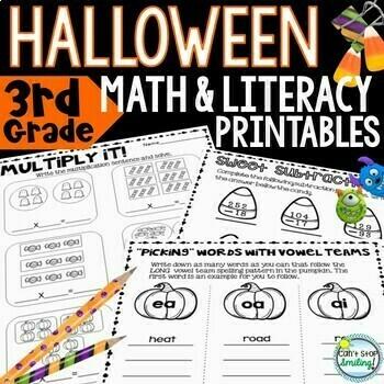 Halloween Activities 3rd Grade