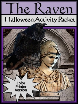 Halloween Activities: The Raven Halloween Language Arts Activity Packet
