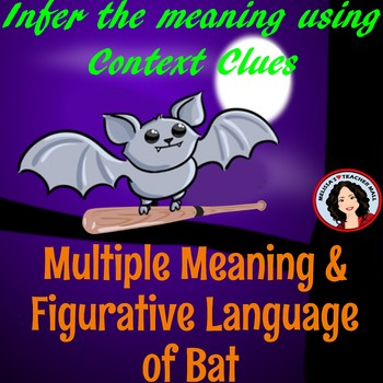 Halloween Fun with Multiple Meanings and Figurative Language of Bat