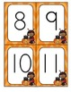 Halloween Numbers and 10-Frames Flashcards for Preschool and Pre-K FREE