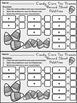 Halloween Math Activities: Candy Corn Halloween Ten Frames Activity Packet