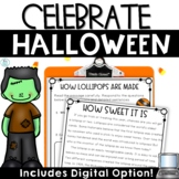 Halloween Activities Reading Passages