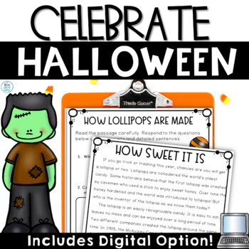 Halloween Non Fiction and Activities