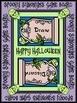 Halloween Language Arts Activities: Spooky Synonyms Halloween Card Game