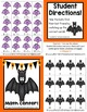 Halloween Quick and Easy to Prep Math Center Game for Addition Plus One