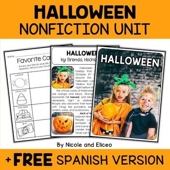 Nonfiction Halloween Unit Activities