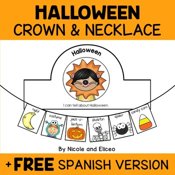 Halloween Activity Crown and Necklace