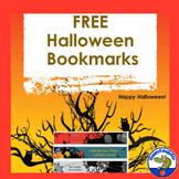 Halloween Bookmarks - FREE