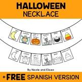Necklace Craft - Halloween Activity