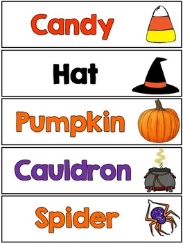 Halloween Reading Printables
