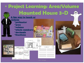 Halloween 3-D Finding Volume, Perimeter and Area Through Project Learning