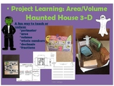 Halloween 3-D Finding Volume, Perimeter and Area Through P