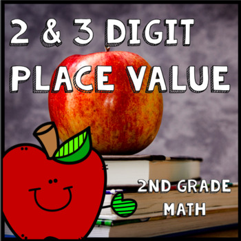 2-Digit 3-Digit Place Value Number Sense Math Practice Back to School 2nd Grade