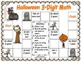 Halloween 3-digit Math Game