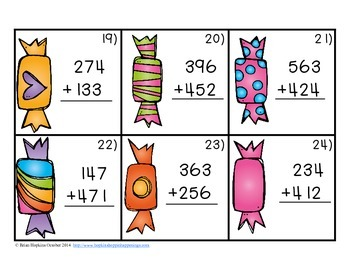 Halloween 3rd Grade Math Centers