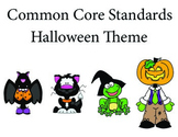 Halloween 3rd grade English Common core standards posters