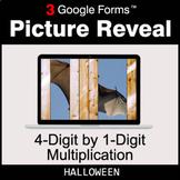 Halloween: 4-Digit by 1-Digit Multiplication - Google Form