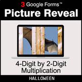 Halloween: 4-Digit by 2-Digit Multiplication - Google Form