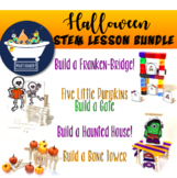 Halloween 4 Lesson STEM Bundle - STEAM