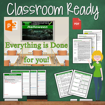 Halloween Writing BUNDLE! - Argumentative, Persuasive, Expository, Narrative