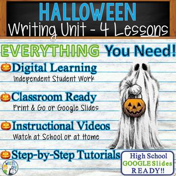 Halloween Writing BUNDLE! - Argumentative, Persuasive, Expository, Narrative