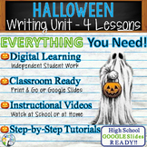 Halloween | Writing Unit 4 Essay Activities Resources | Print and Digital