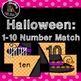 Halloween 5 Literacy and Math centers bundle