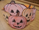 Halloween 5 Little Pumpkins Sitting on the Fence Hat Pattern