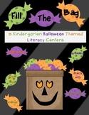 Halloween 5 Pack Kindergarten Literacy Stations Fill the B