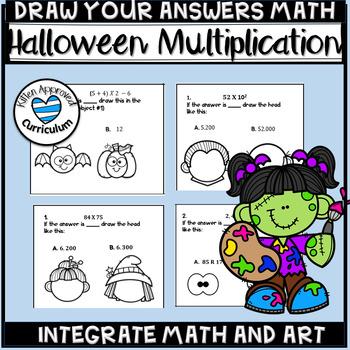 Halloween Math 5th Grade Math Art Activity